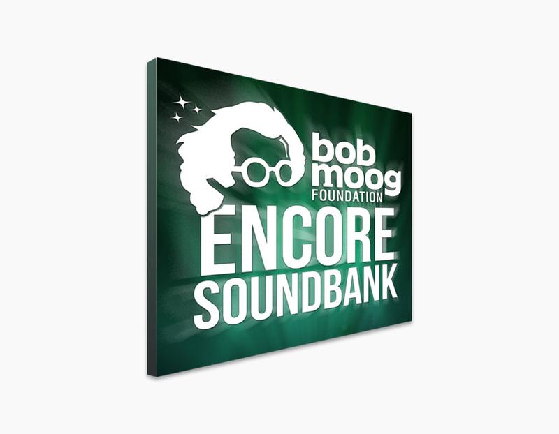 Bob Moog Foundation Encore Soundbank