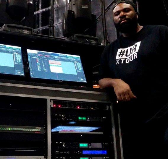 Usher's MOTU rig