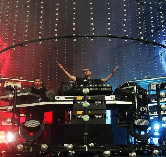 Chemical Brothers' MOTU rig