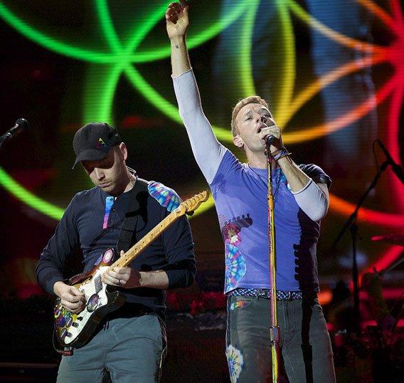 Coldplay MOTU rig