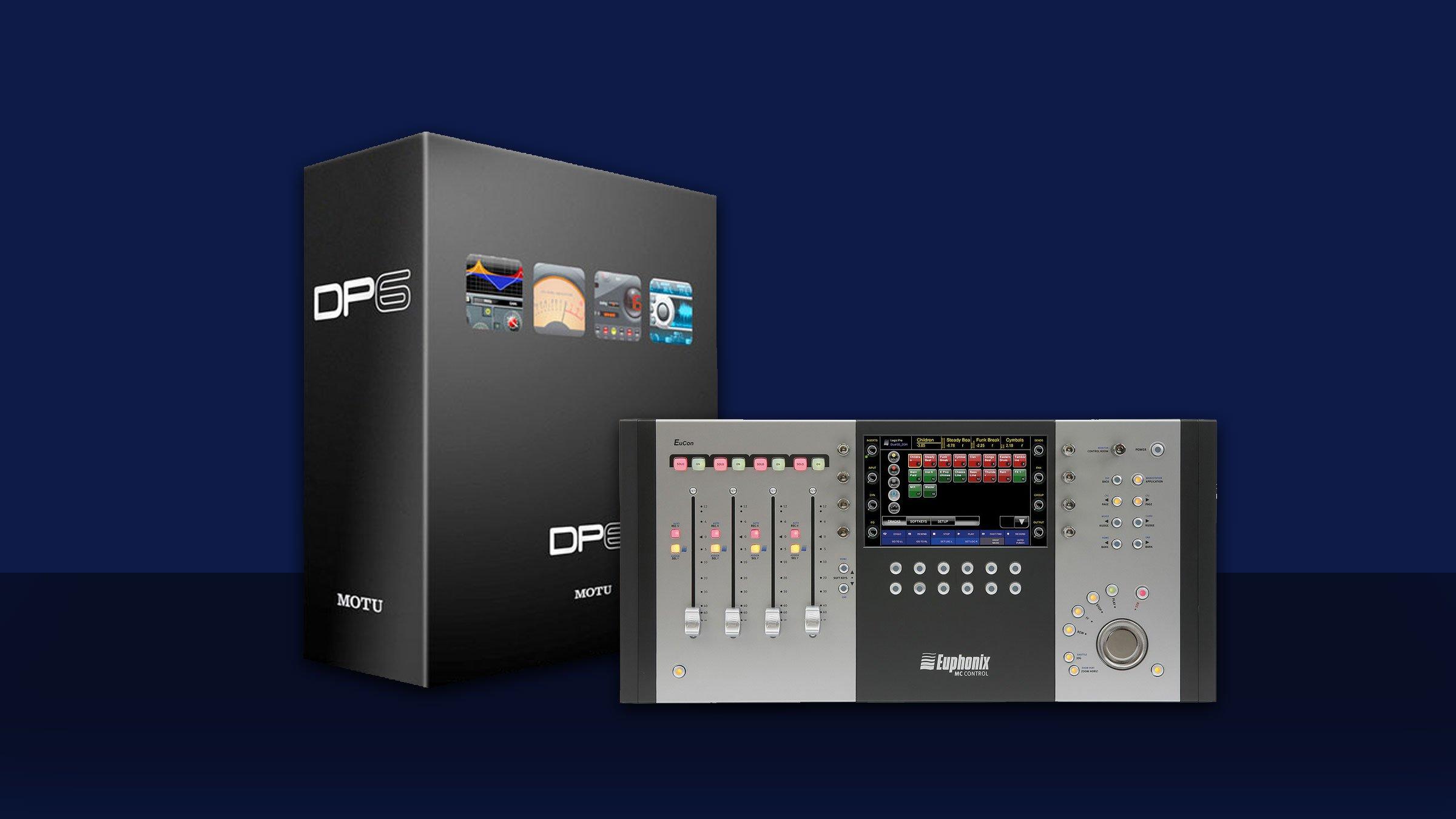 New high-end console technology for DP6 | News | MOTU com