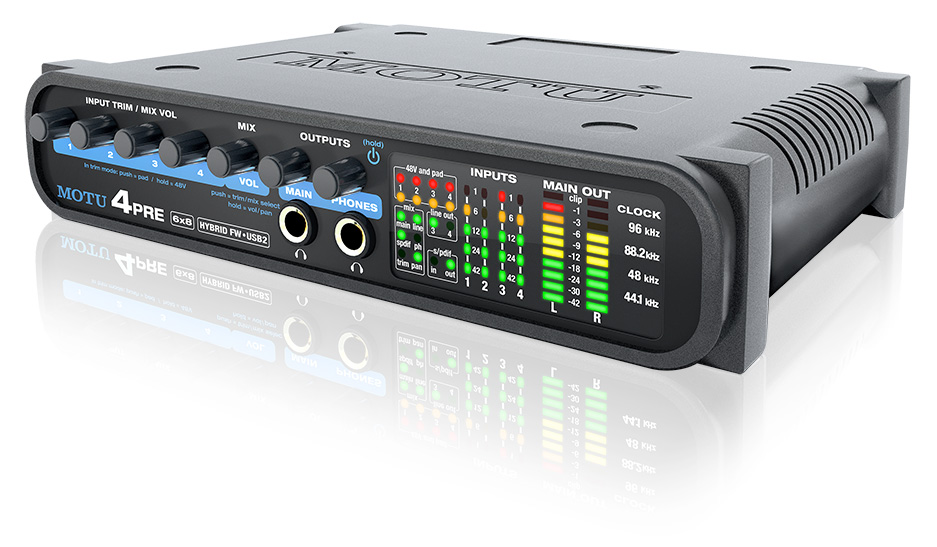 MOTU 4PRE FIREWIRE AUDIO INTERFACE