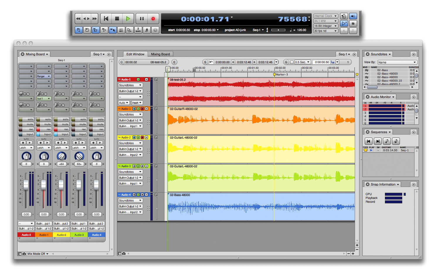 motu audiodesk