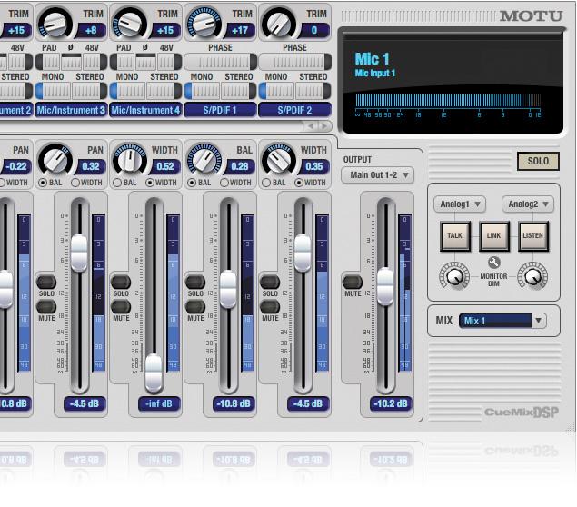 MOTU com - Mixing