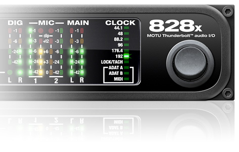 Interfaccia Audio Thunderbolt/usb Motu 828x Pro Audio Equipment