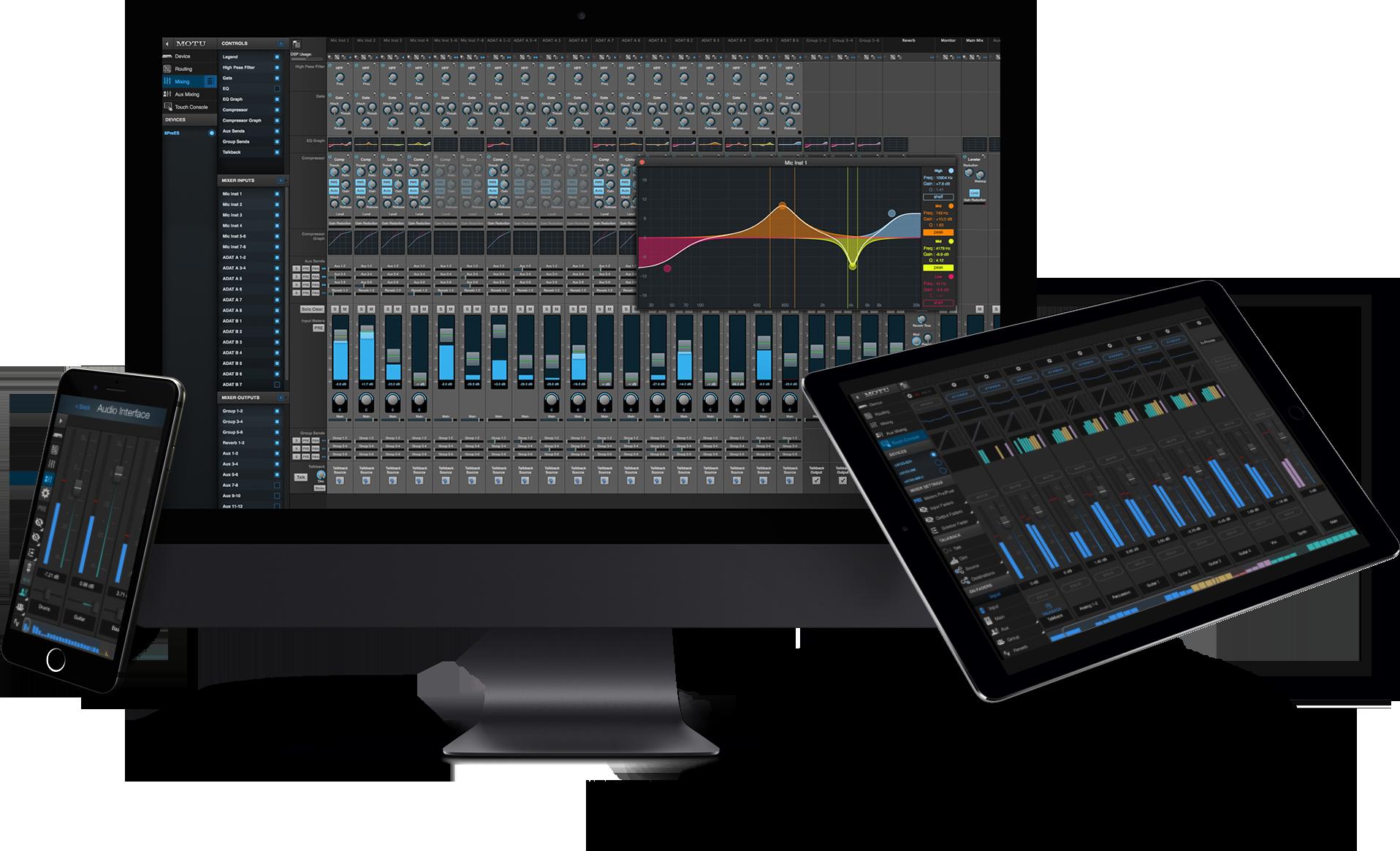 MOTU Pro Audio Mixer