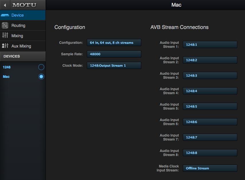 MOTU com - Using your MOTU AVB device as a Mac audio