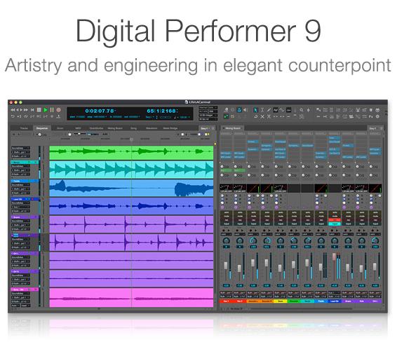 motu com digital performer 9 0