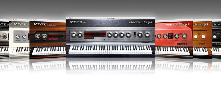 MOTU com - Electric Keys Overview