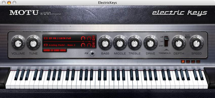 MOTU.com - Electric Keys Overv...