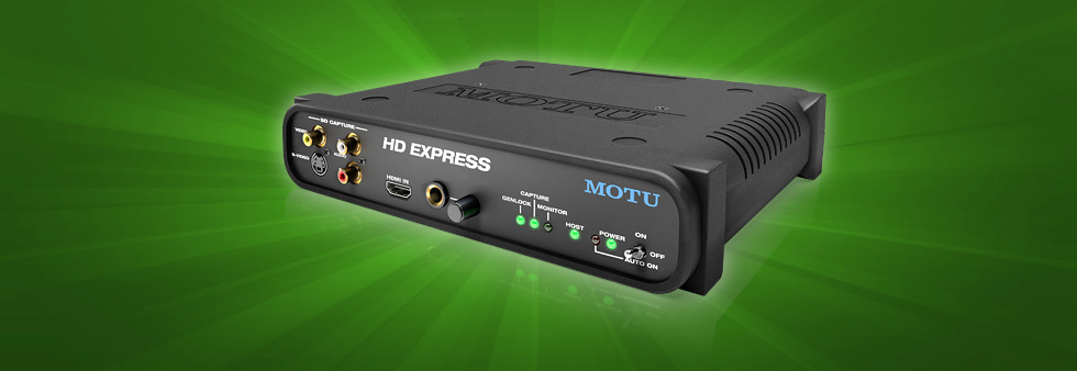 MOTU com - HD Express for Avid