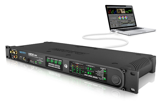 HDX-SDI with Avid Media Composer