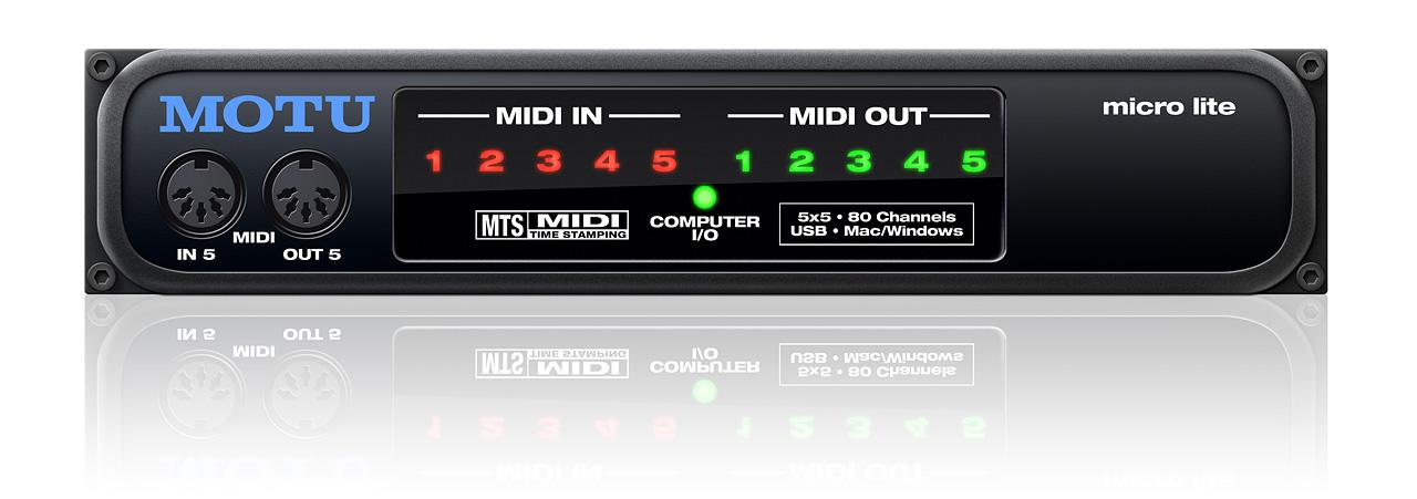 MOTU com - micro lite Overview