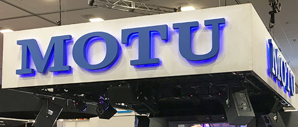 NAMM booth header
