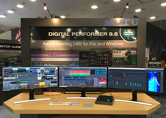 Digital Performer 9.5 workstation