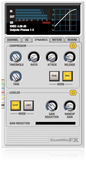 Cuemix fx control software