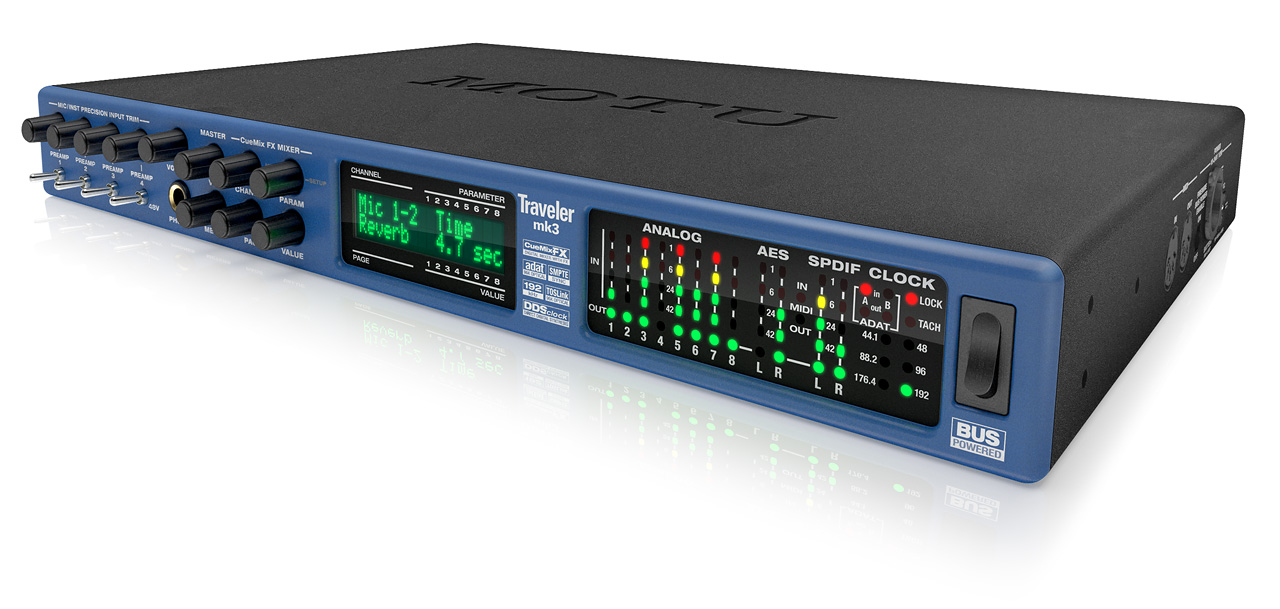MOTU com - Clock, sync and MIDI